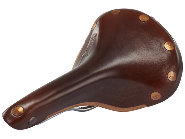 Brooks Swift Chrome Special Kernledersattel brown